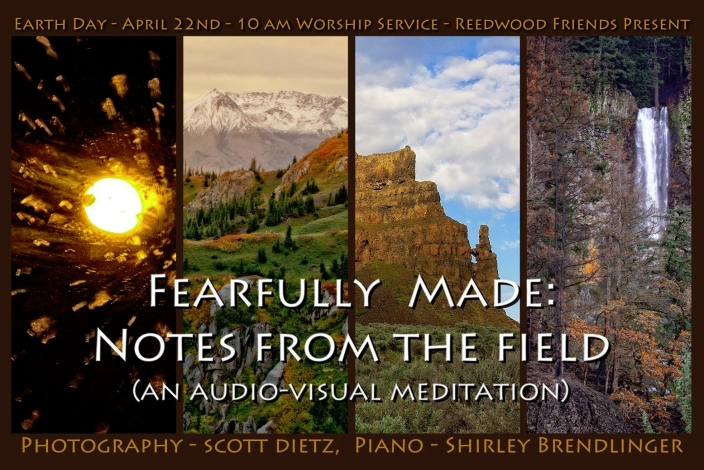 Fearfully Made: Notes From The Field
